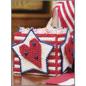 Hearts, Stars, and Stripes Container