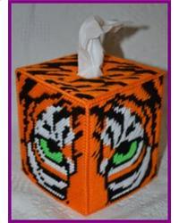 Quot Tiger Face Tissue Box Cover Quot