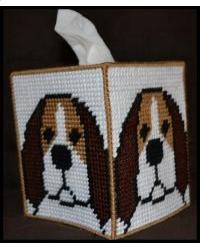 Beagle Tissue Box Cover Plastic Canvas Pattern