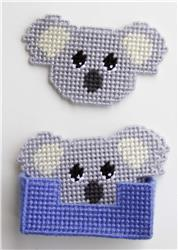 Koala Bear Treat Holder-Plastic Canvas Pattern or Kit