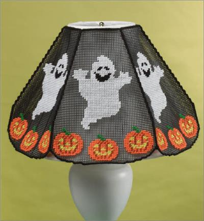 Everything plastic canvas october halloween lampshade cover aloadofball Images
